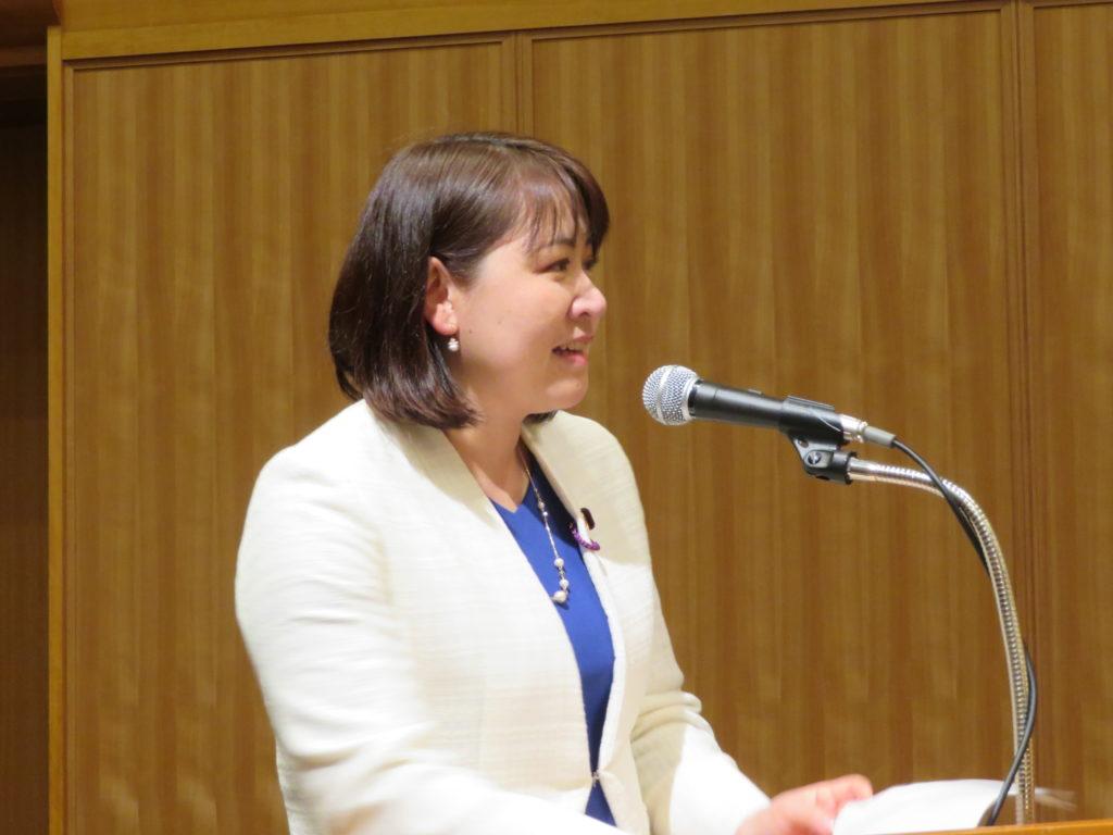 相原久美子さんを労い感謝する会など | 参議院議員 岸まきこ